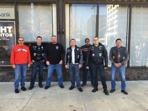 2016 Laying of the roses ride with Legion Riders Post 290